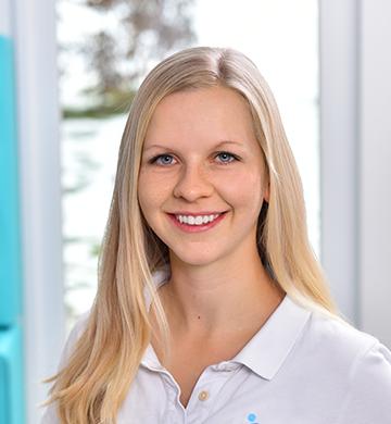 Teammitglied Anna-Lisa-Meyer der Radyx Physiotherapie Praxis.